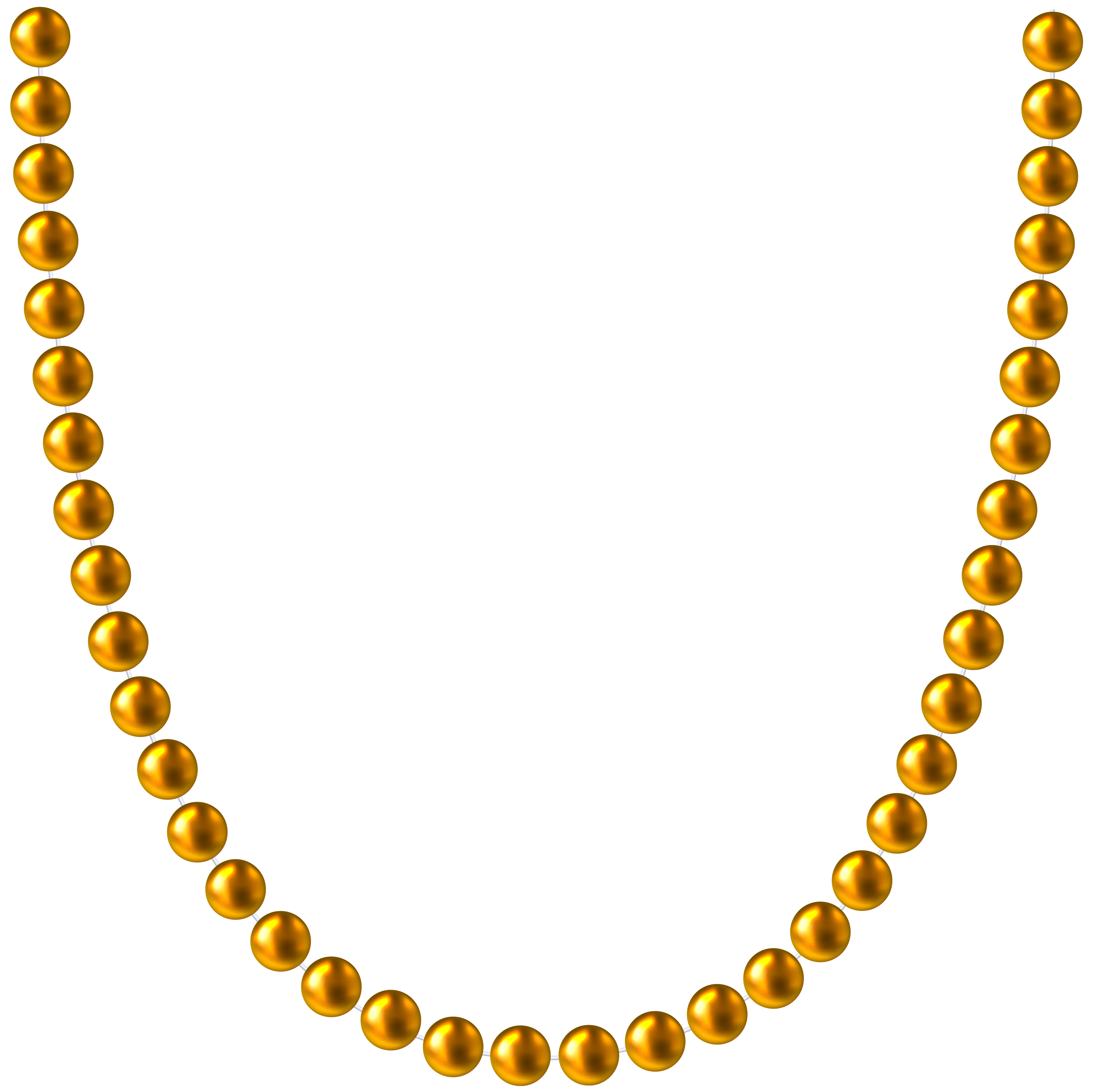 Beads shining inspiration gold. Shell clipart pearl clipart