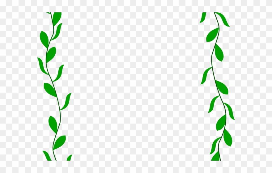 Garland clipart leaves. Floral border transparent png