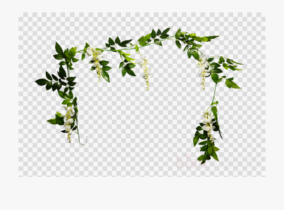 Plant png flowerpot twig. Garland clipart leaves