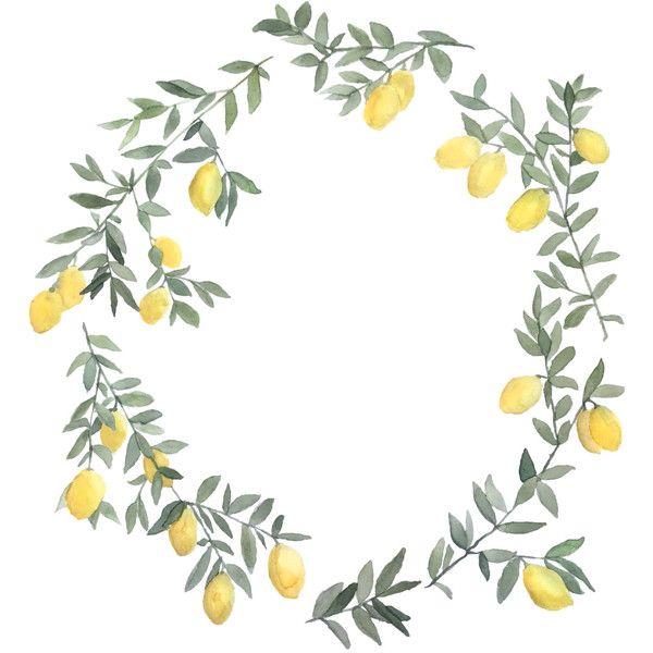 Garland clipart lemon. Free download clip art