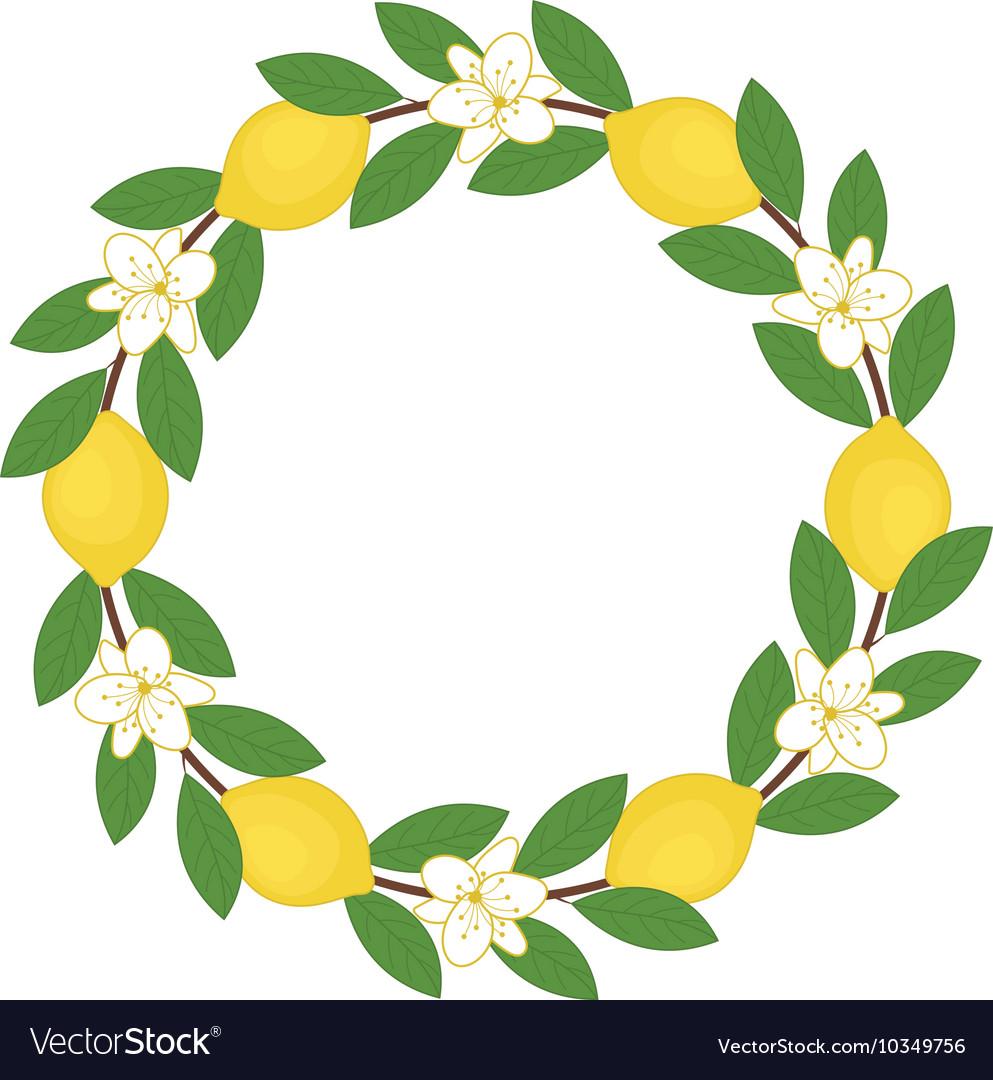 Free download clip art. Garland clipart lemon