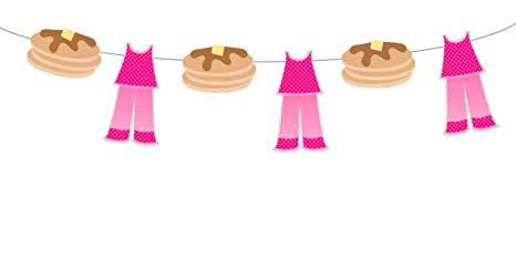 Pajamas clipart pancake. Amazon com and garland