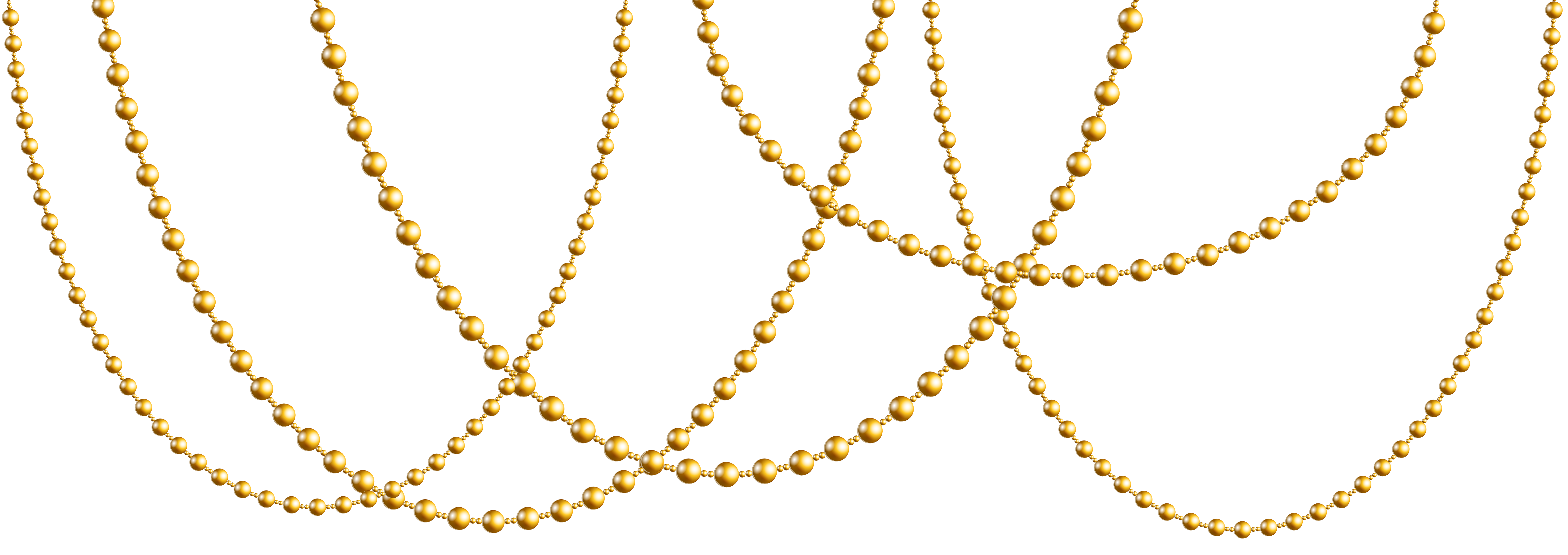 pearl clipart gold bead