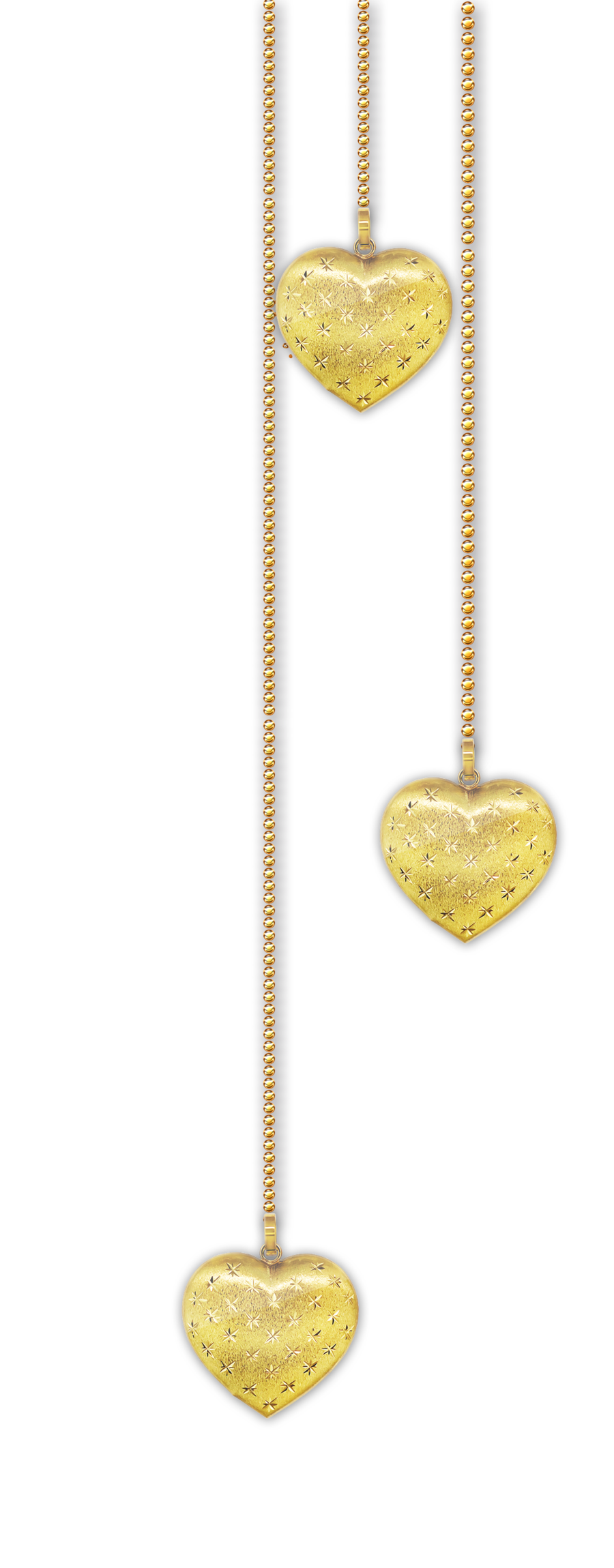 Hearts png by melissa. Garland clipart pendant