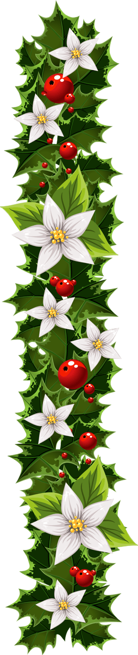 Garland clipart potluck. Free christmas clip art