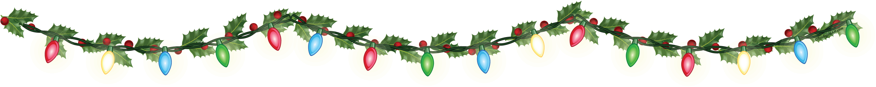 Garland clipart potluck. Christmas free download best