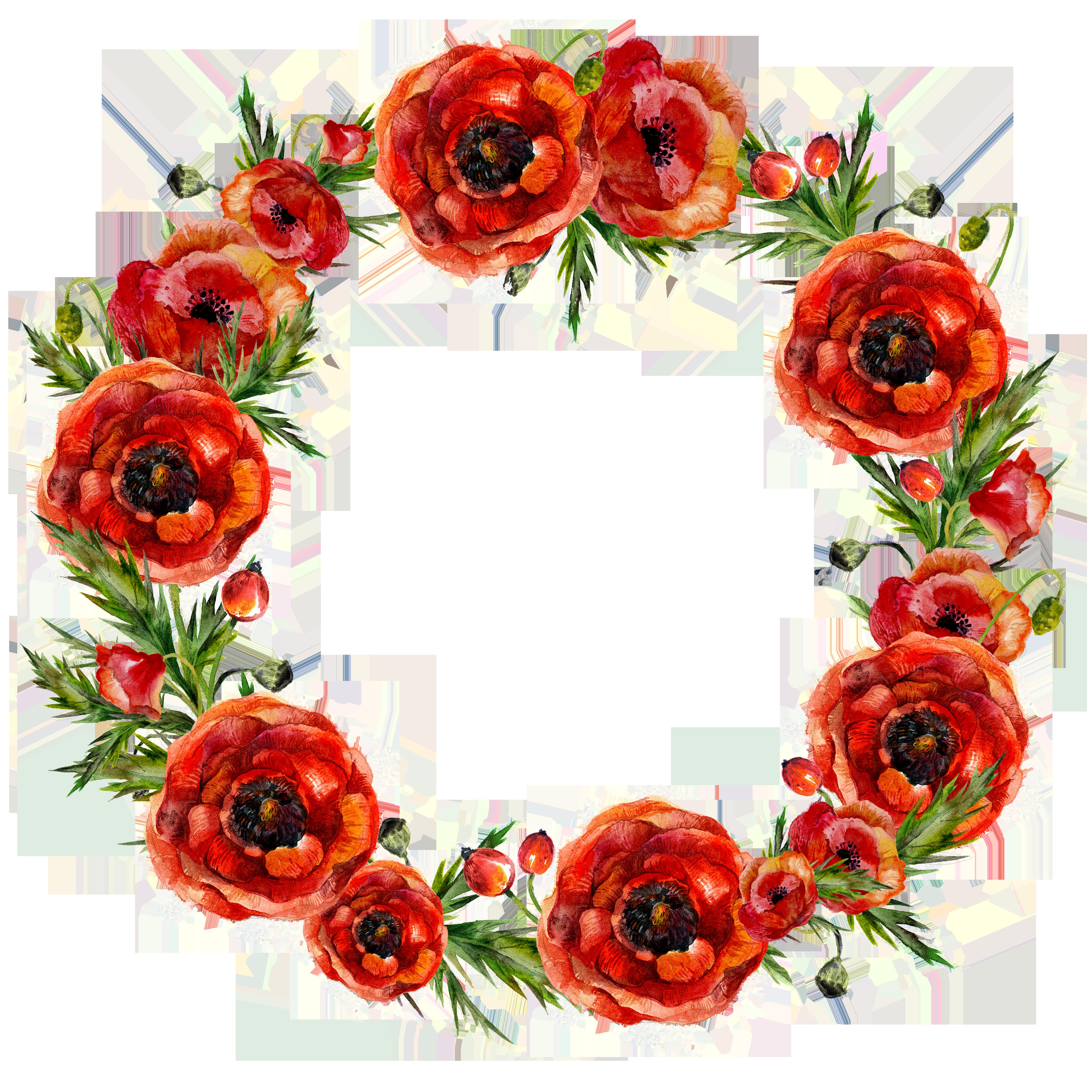 Garland flower red garlands. Strawberries clipart wreath
