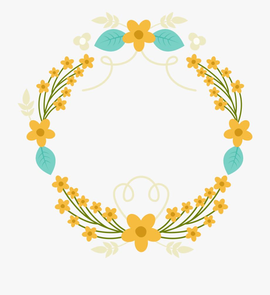 Laurel clipart garland. Wreath warm color simple