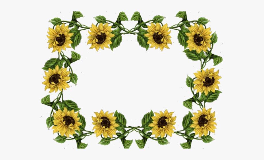 Garland clipart sunflower, Garland sunflower Transparent ...