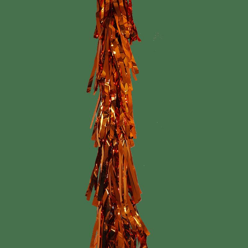 Orange . Garland clipart tassel garland