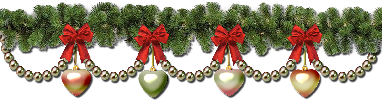 Christmas garland border transparent png.  collection of wreath