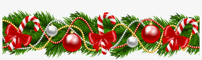Christmas Clipart Transparent Background.Garland Clipart Transparent Background Christmas Garland
