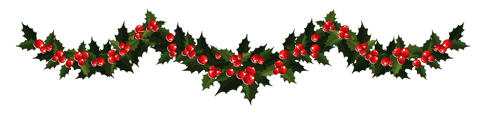 Free images download clip. Christmas garland border transparent png