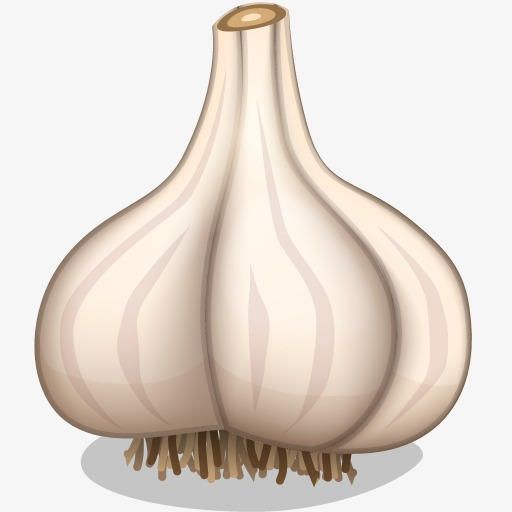 A cartoon food png. Garlic clipart