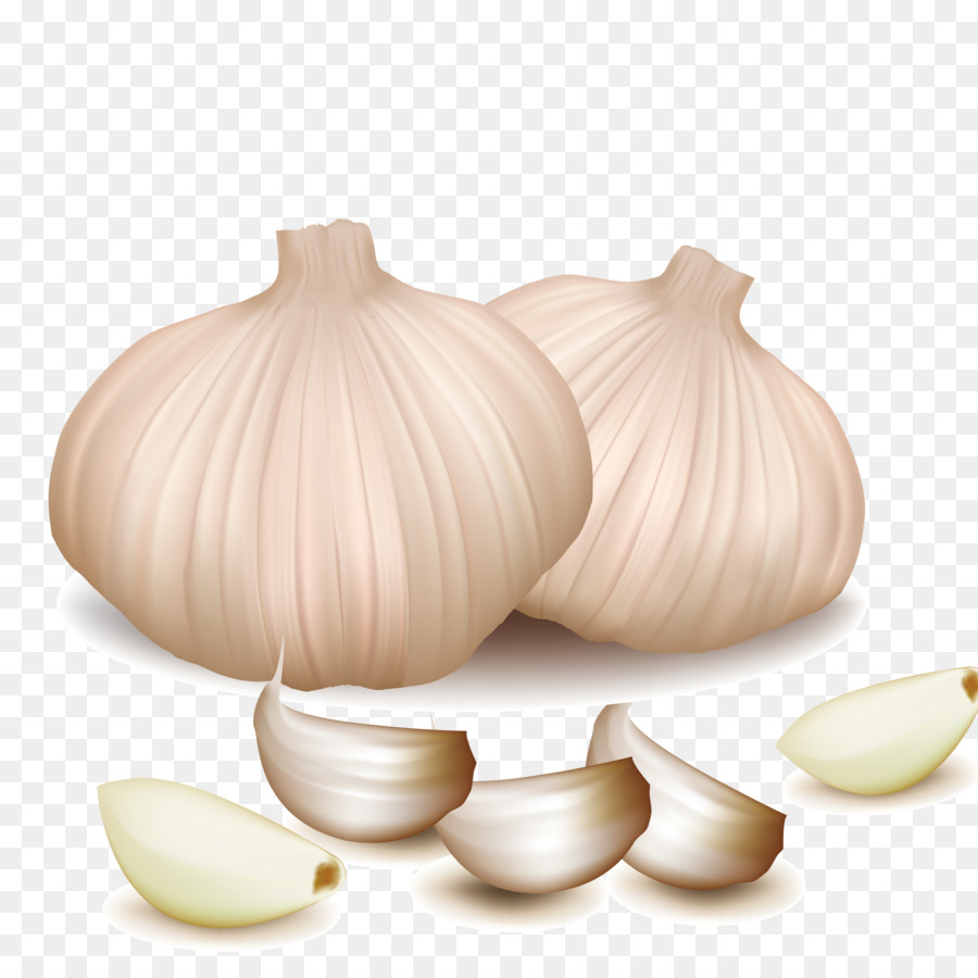 Vegetarian cuisine vegetable fruit. Garlic clipart