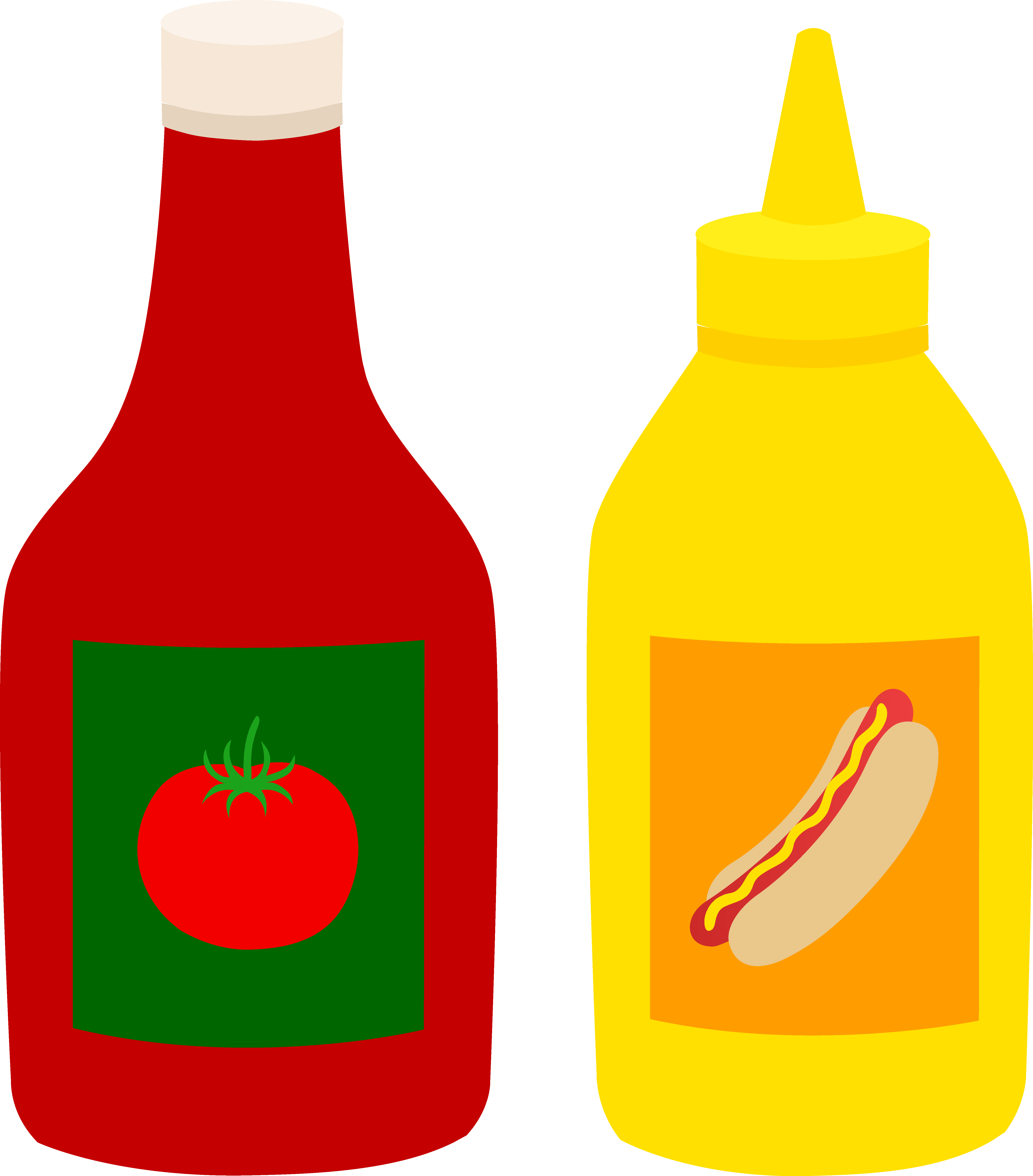 Mustard drawing at getdrawings. Kitchen clipart condiment