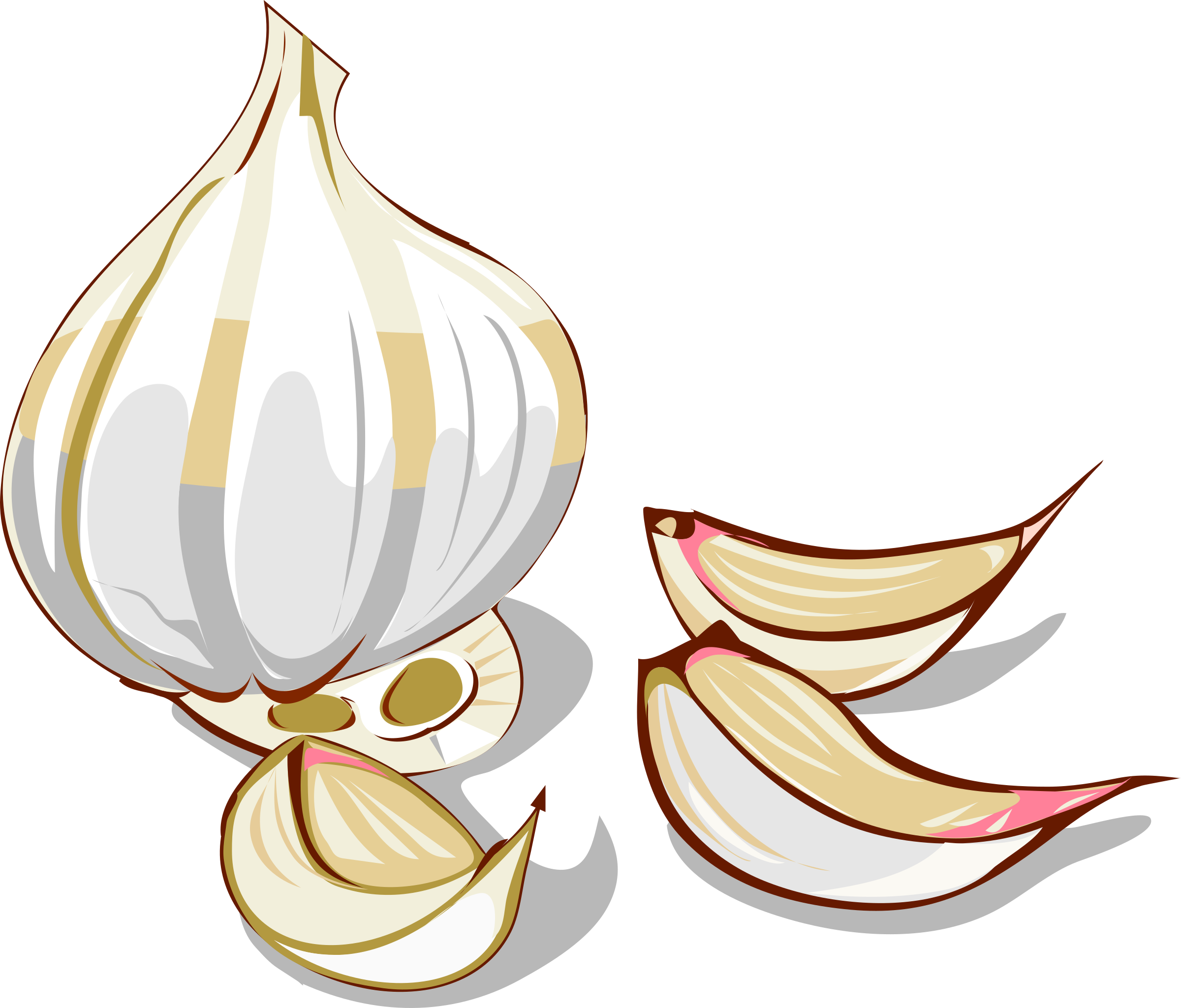 Bed tyme tales storyland. Garlic clipart illustration