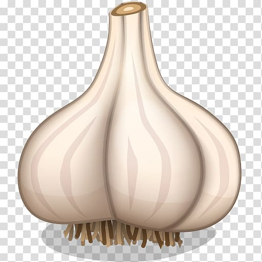 Vegetarian cuisine icon a. Garlic clipart illustration