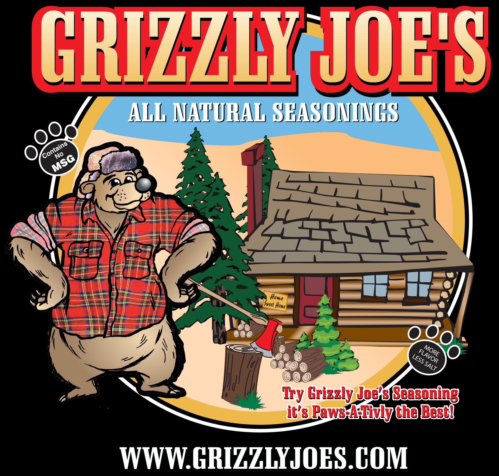 Garlic clipart seasoning. Grizzly joe s seasonings
