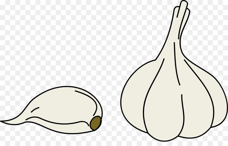 Garlic clipart vegetable. Bird line art pasta