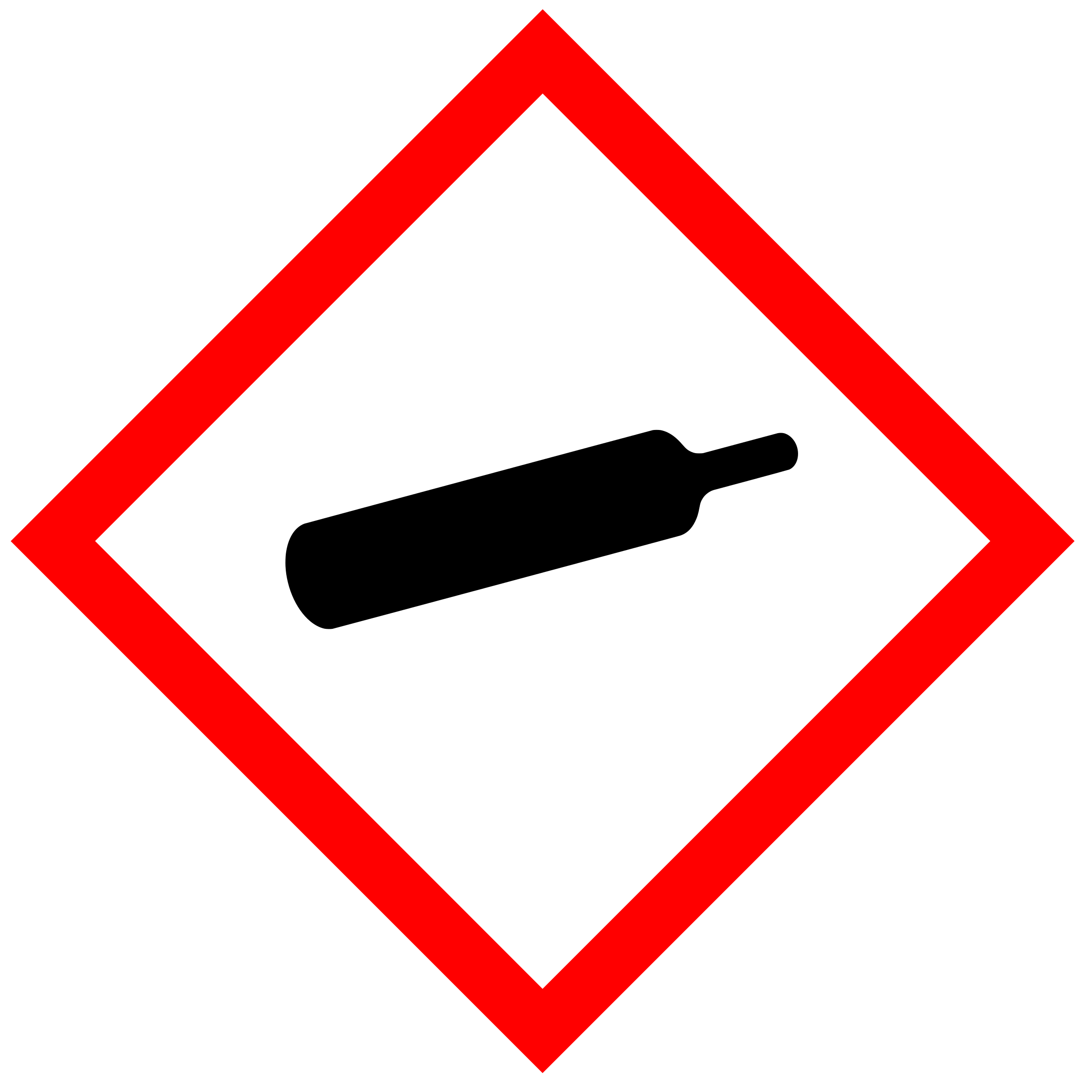 Gas clipart gas canister. Ghs pictogram for bottles