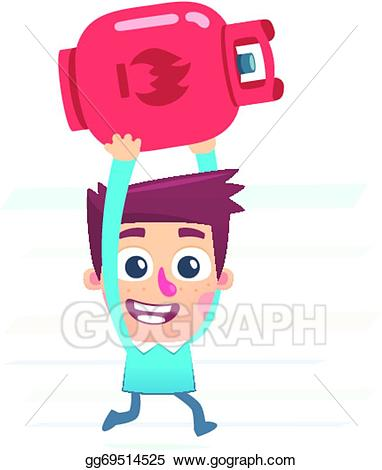 Clip art vector cylinder. Gas clipart gas canister