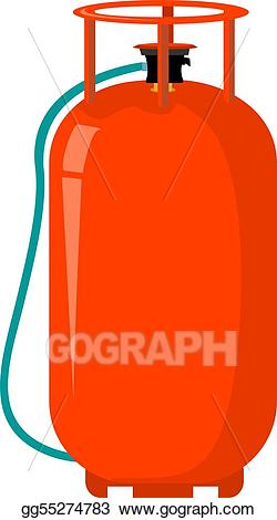 Gas clipart gas canister. Stock illustration cylinder gg