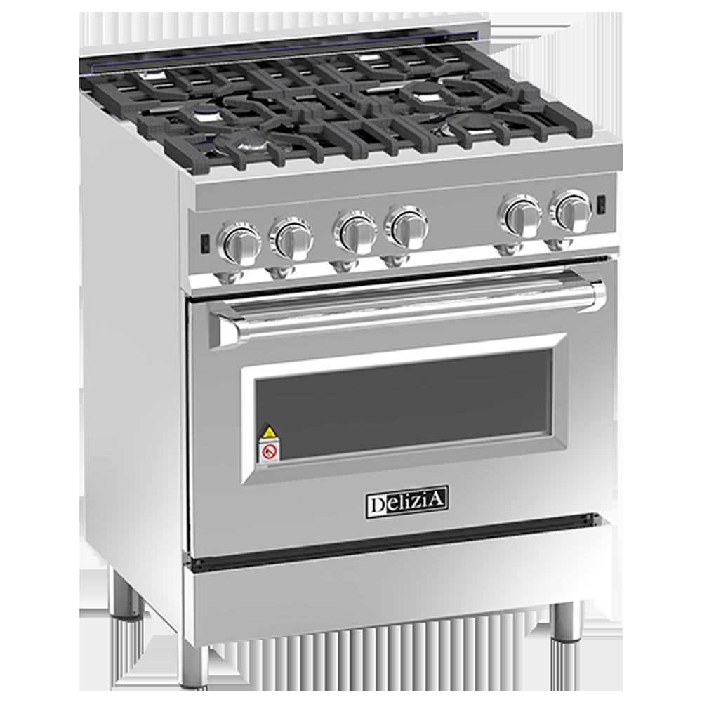 Delizia professional cooker minessota. Refrigerator clipart stove oven