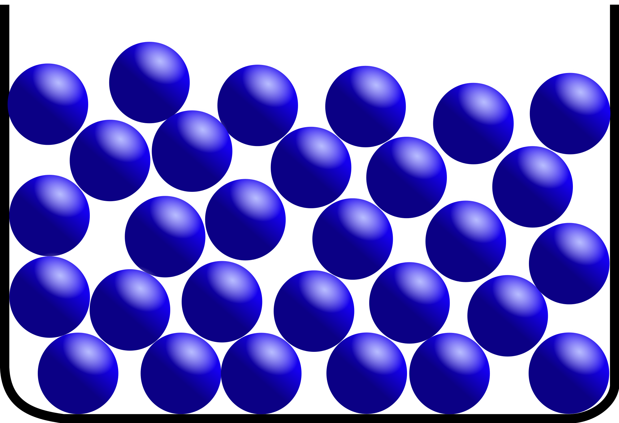 Properties of matter eng. Gas clipart gas particle