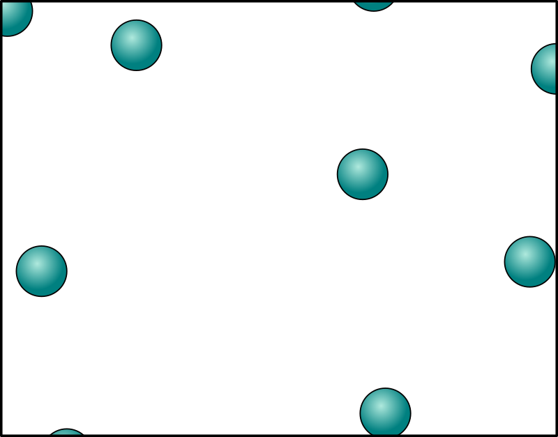 Gas clipart gas particle. Green circle blue text