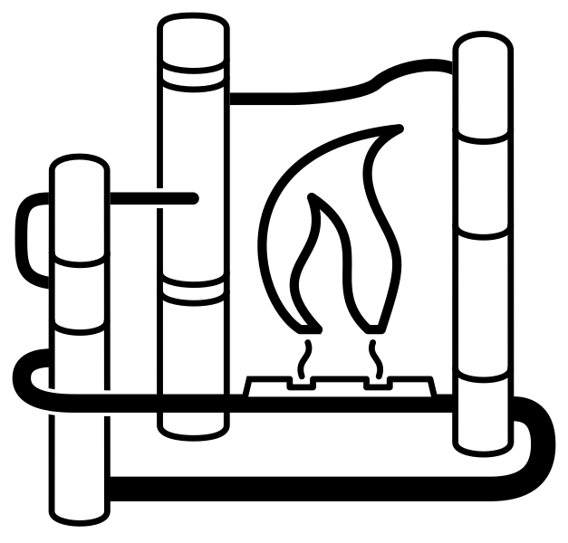 Gas clipart gas plant. File processing svg wikimedia