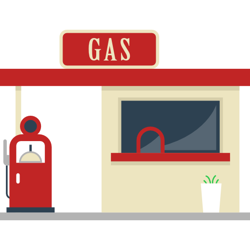 Images gallery for free. Gas clipart gas station