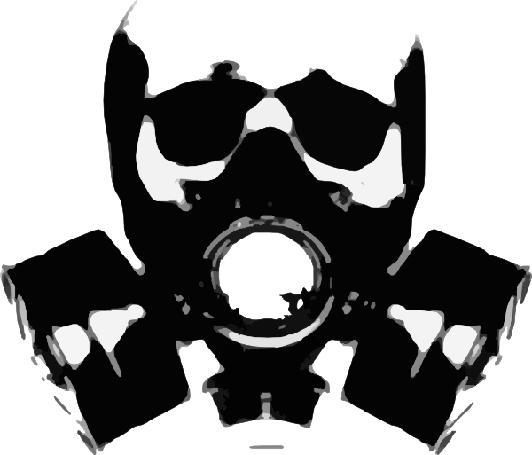 Clip art at clker. Mask clipart gas mask