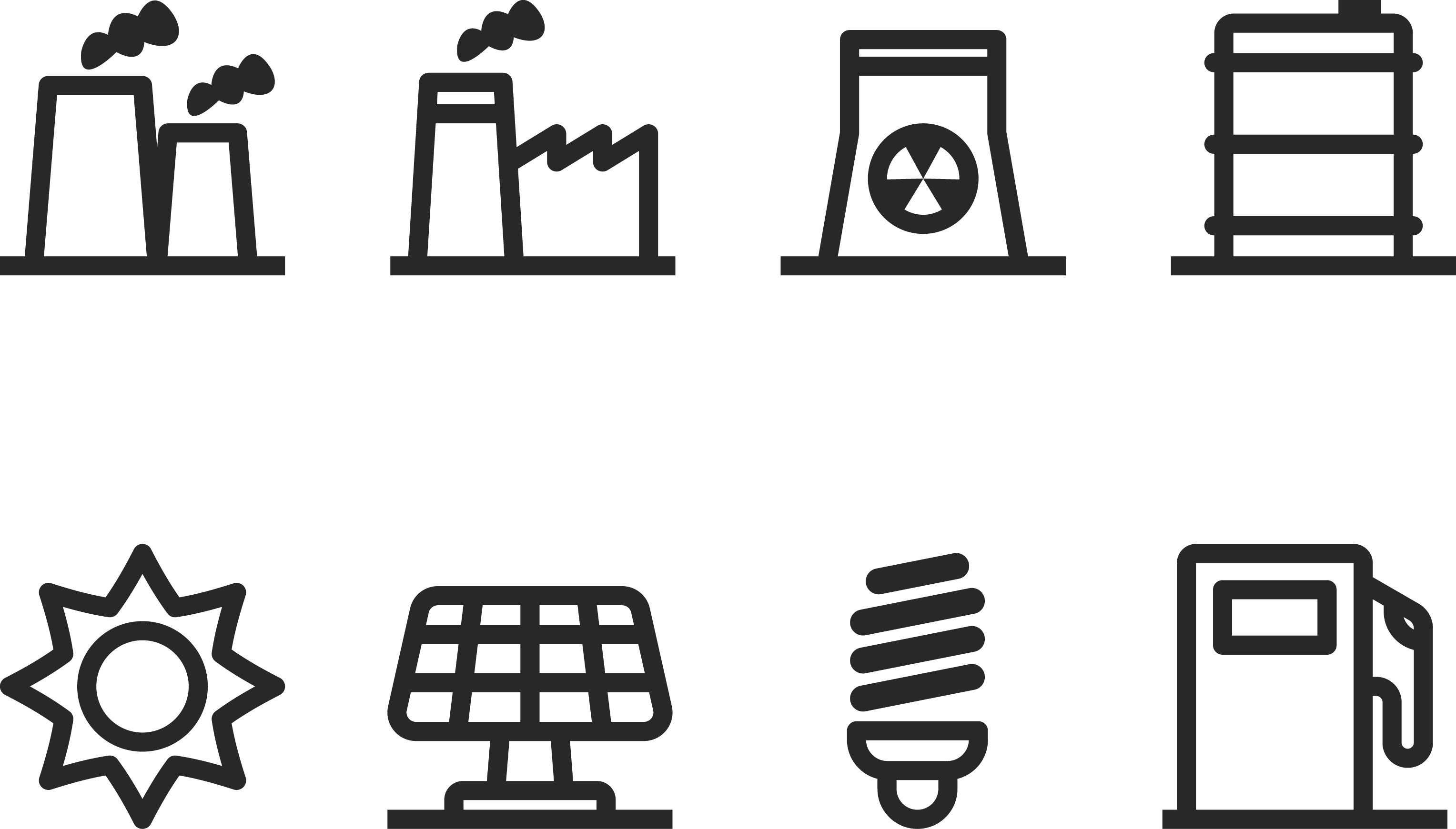Technology factory chimney gas. Industry clipart industrial revolution
