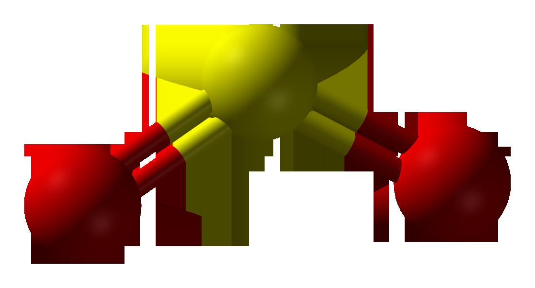 Sulfur dioxide my favorite. Gas clipart intermolecular force