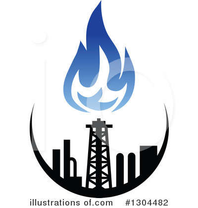 Illustration by vector . Gas clipart natural gas