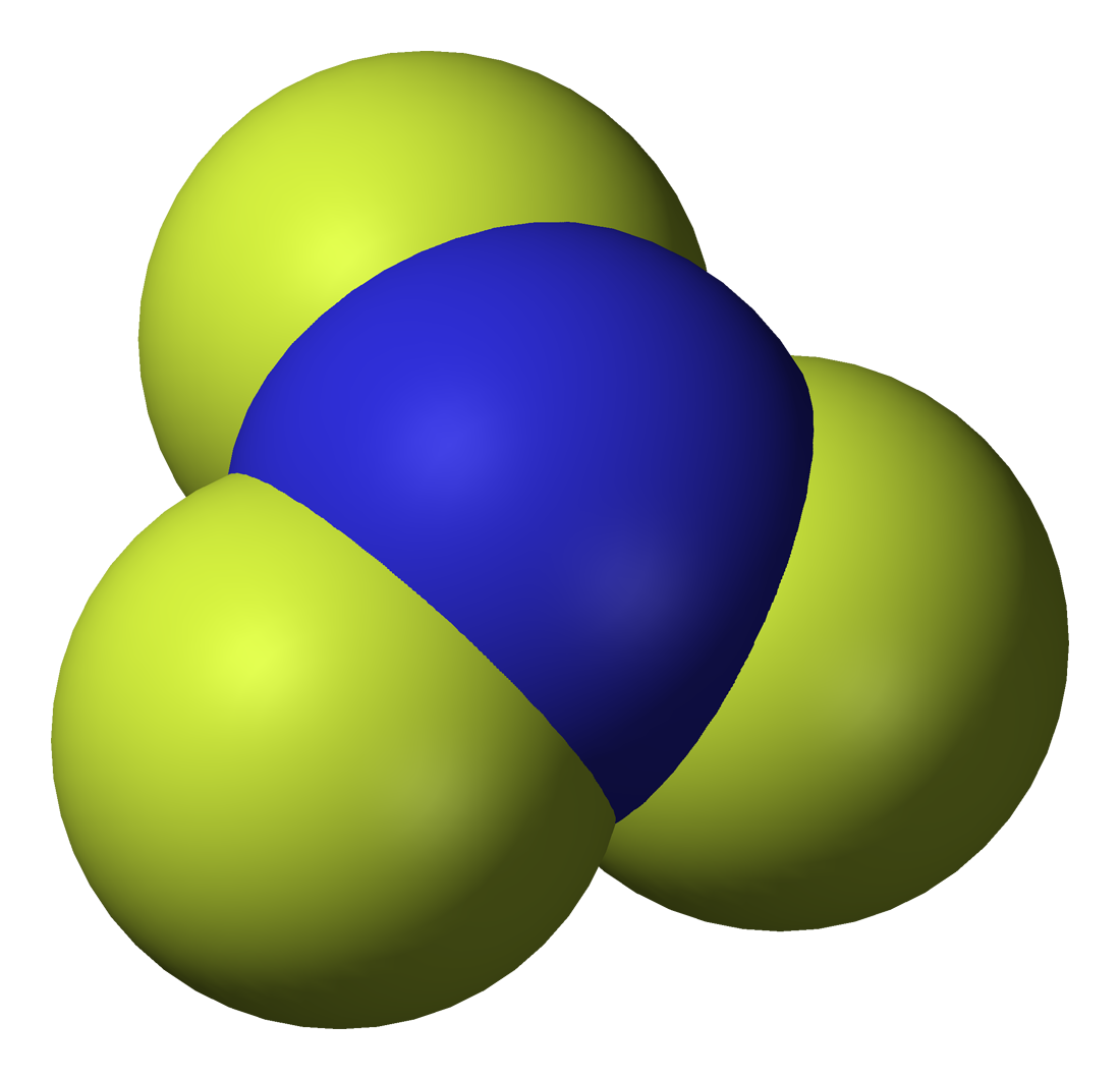 File trifluoride d vdw. Gas clipart nitrogen gas