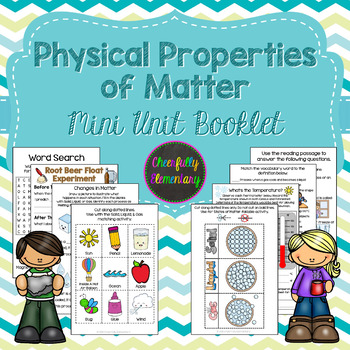 Properties of matter mini. Gas clipart physical property