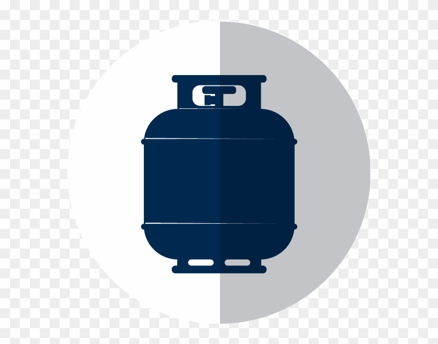 Cylinder png download . Gas clipart propane