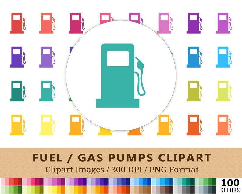 Gas clipart rainbow.  pump gasoline clip