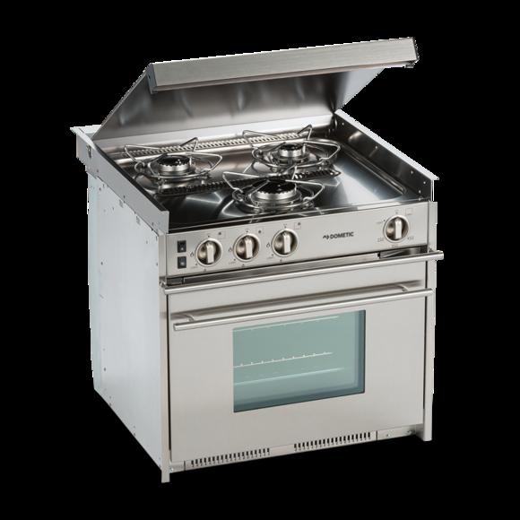 Dometic cu range campervan. Refrigerator clipart stove oven