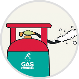 Safety tips petronas for. Gas clipart tong