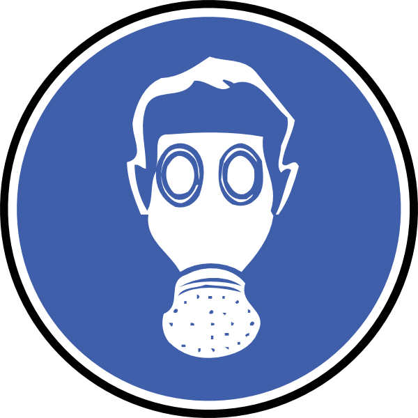 Professional clipart professional engineer. Wear gas mask clip