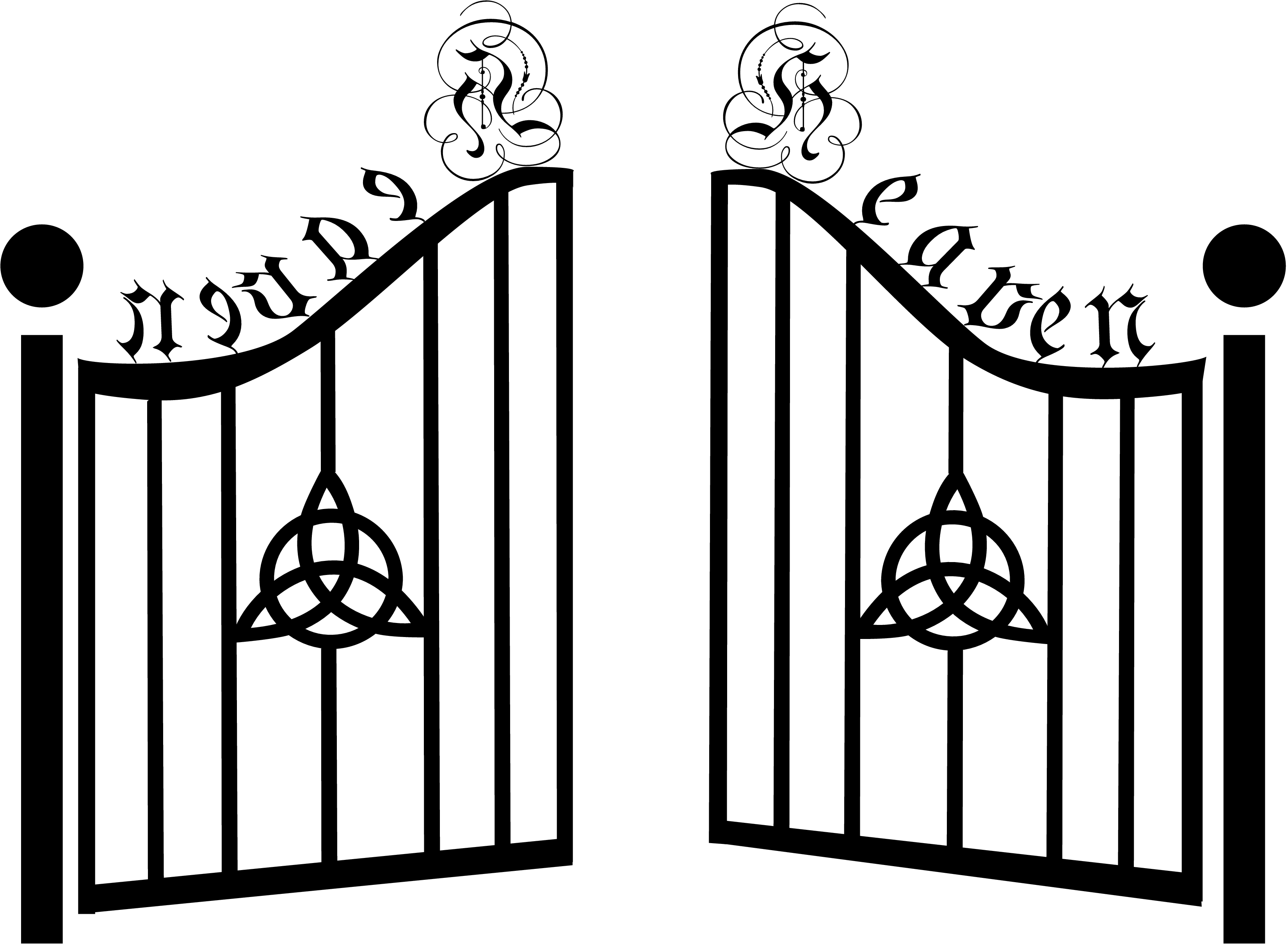Awesome collection digital m. Gate clipart
