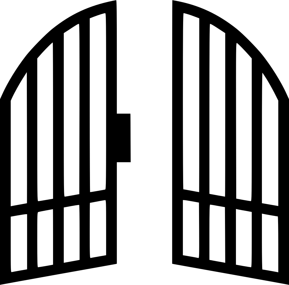 Svg png icon free. Gate clipart big gate