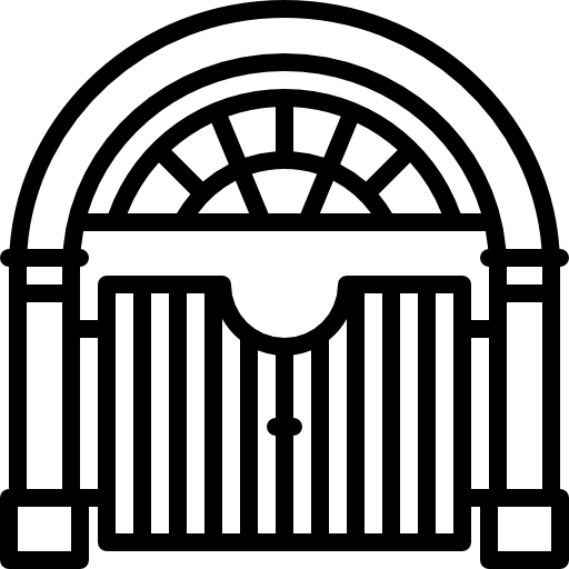Gate clipart big gate. Icons free download