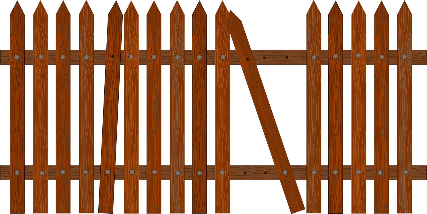 Gate clipart broken gate. Images gallery for free