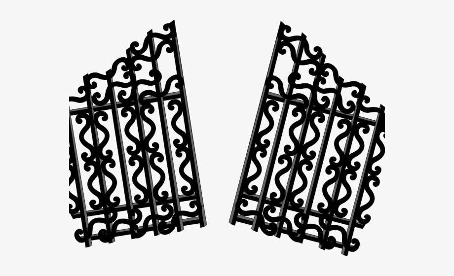 Gate clipart broken gate. Png free
