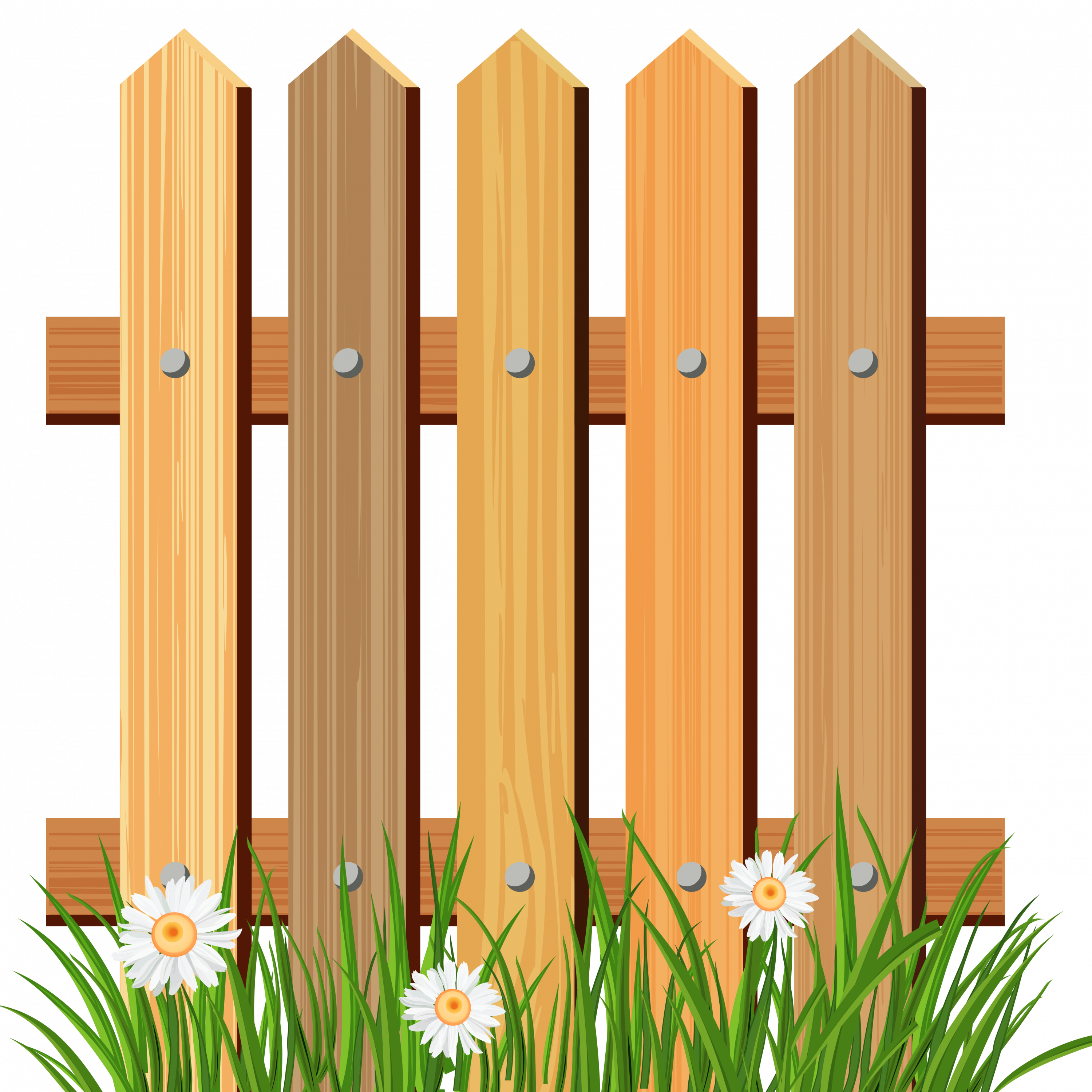 Gate clipart brown fence.  collection of garden
