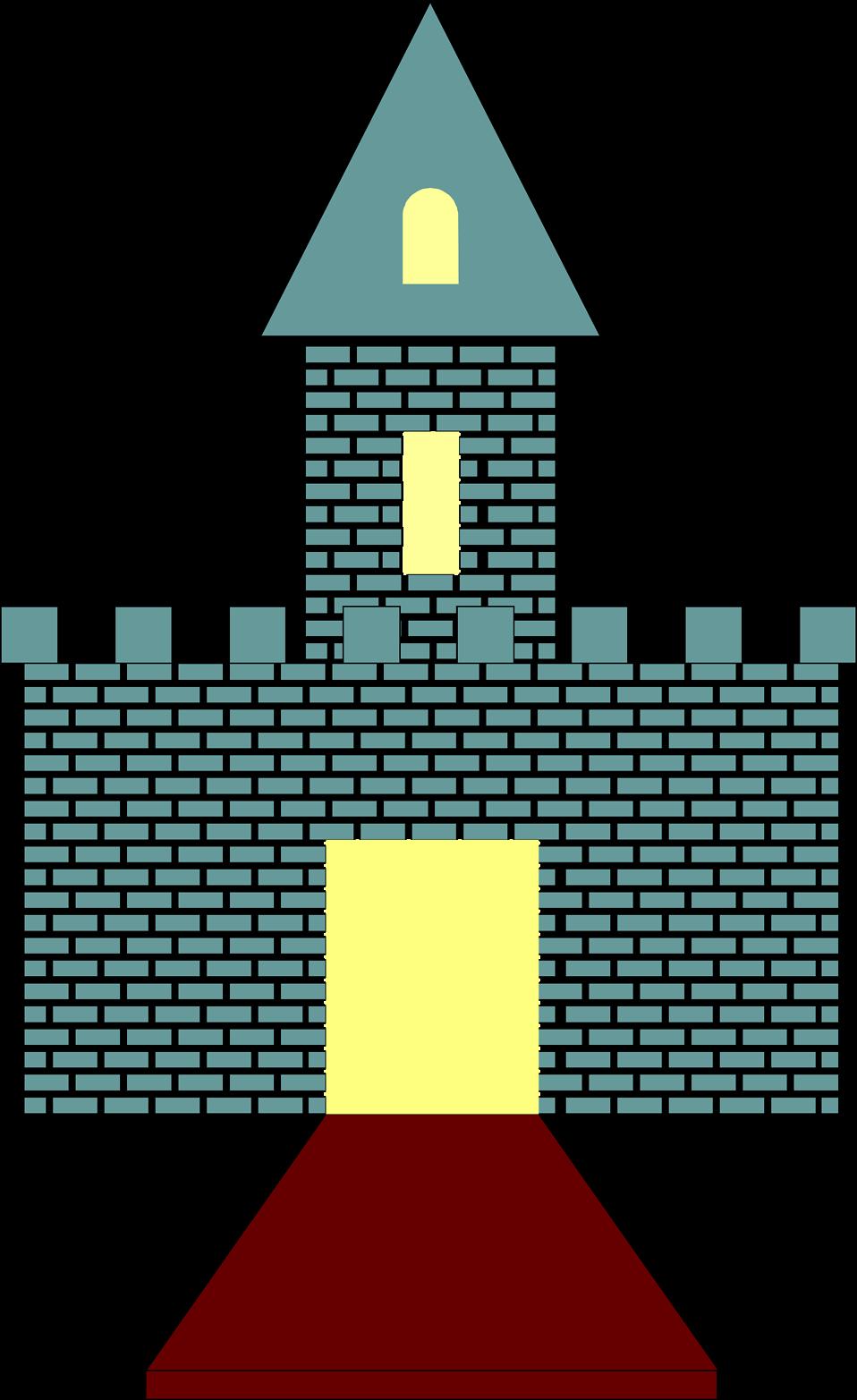 Gate clipart castle gate. Free stock photo illustration